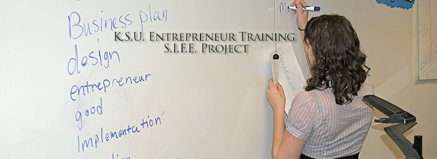 Kennesaw State Univ. Entrepreneur Training S.I.F.E. Project
